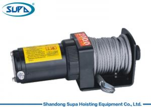 China Wire Rope Electric Winch Hoist 12V 24V 2000lbs OEM / ODM Accepatble Fast Delivery on sale
