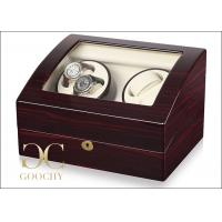 Double Automatic Watch Winding Case , Clockwise Rotation Automatic Wrist Watch Winders