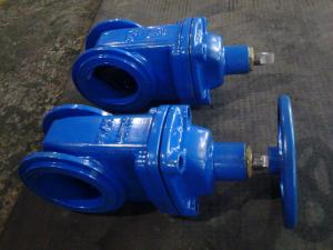 China Wafer Type Light Weight Water Gate Valves DN100 DIN F4 For Firework on sale