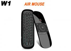 China New Hot W1 Fly Air Mouse Wireless Keyboard 2.4G Rechargeble Motion Sense Mini Remote Control For Smart Android TV BOX on sale