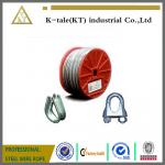 6X7+FC, 6X7+IWS Elevator Steel Wire Rope supplier/steel wire rope for left/ wire rope with  metal products