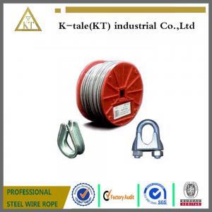 China 6X7+FC, proveedor de la cuerda de alambre de acero del elevador 6X7+IWS/cuerda de alambre de acero para la cuerda de alambre izquierda con los productos de metal on sale
