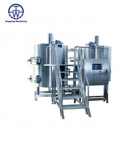 China Durable Craft Beer Brewing Equipment 0-80 KW Thickness 2.0-3.0 Mm Rockwool Insulation on sale