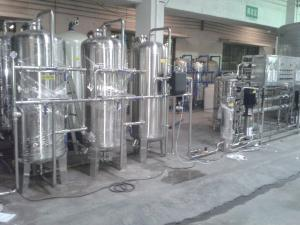 China Reverse Osmosis Water Treatment / Water Purification System 2000L/H on sale