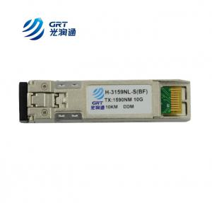 China High performance 10G 10km SFP CWDM Transceiver Module for CWDM Mux/Demux on sale
