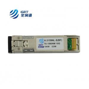 China High performance 10G 10km SFP CWDM Transceiver Module for CWDM Mux/Demux on sale