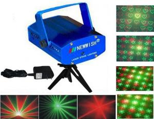 China Mini professional laser stage lighting D06 with Auto and sound mode on sale