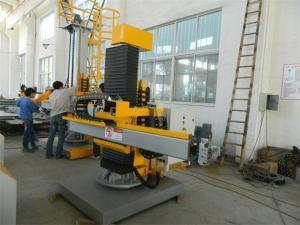 China Manipulateur hydraulique de soudure de réservoir de machine à cintrer de haute précision pour la couture droite/couture de cercle on sale