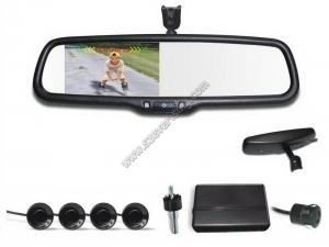 China CRS9431 4.3 inch Rear view mirror Visual  Reversing Parking Assist Sensors with Parking Camera on sale