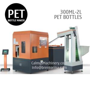 China 300ML 500ML PET Bottle Making Machine 0.3L 0.5L PET Bottle Blow Molding Machine on sale