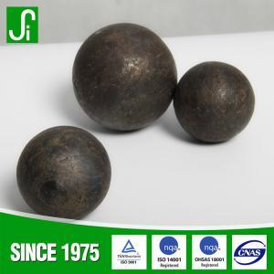 China B2 B3 BU 60Mn 65Mn 45#steel ball mill grinding media steel balls on sale