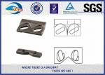 China 9220 Steel Plate Weldable Upper Rail Clip With Rubber Nose and Base Clip for Crane Rail A100 QU100 wholesale