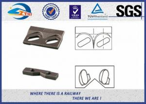 Quality 9220 Steel Plate Weldable Upper Rail Clip With Rubber Nose and Base Clip for for sale