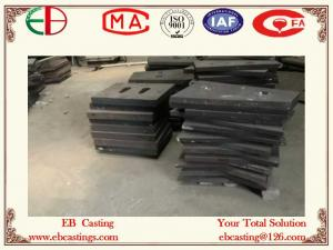 China AS2027 NiCr4-600 Ni-Hard Cast Liner Abrasive Shell Liners & End Liners for Coal Mills EB6017 on sale