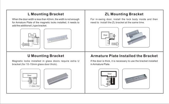 vians brand electric magnetic lock lbs to lbs hording force product mounting bracket wiring