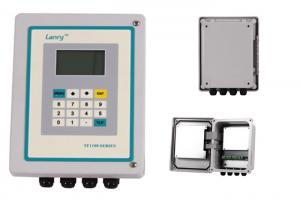 China High Performance Transit Time Ultrasonic Flow Meter With 16GB Data Logger on sale