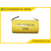 China High Capacity Nickel Cadmium Battery Size D 5000mah Rechargeable Battery on sale