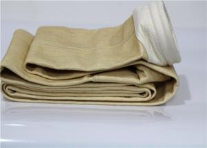 China Nomex Industrial Filter Bags , High Temperature Filter Bags Needle Punched Cylindrical on sale