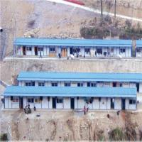 10 years light C steel K type prefabricated house fast assemble for dormitory