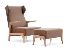 China Boomerang Chill Lounge Chair and ottoman on sale