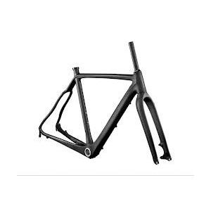 Quality Matte / Gloss Finish Carbon Cyclocross Frame Set with Canti-brake System / Disc System HT-FM286 for sale