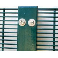 Hot Dipped Galvanized / Powder Coating 358 High Security Fence Metal Frame Eco Friendly