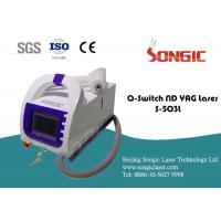 Portable Q Switch Tattoo Removal Machine , Skin rejuvenation Device