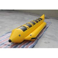 China 4.9x1.1m Inflatable Water Games ,  Inflatable Flying Fish Water Banana Boat For 5 People on sale