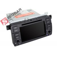 Original Car User Interface BMW E46 Sat Nav Double Deck Car Stereo Built In 10 Wallpapers