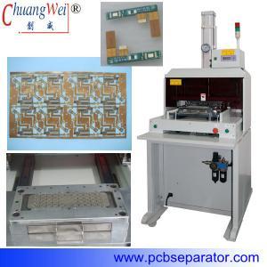 China Professional Economical FPC / PCB Singulation Machine With Punching Mold on sale