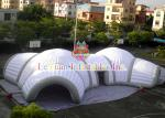Fire Retardant Inflatable Football Tunnel / Helmet Tent For Sports Events