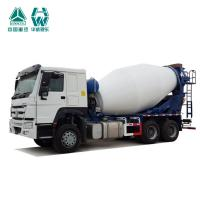 Large Concrete Mixing Transport Trucks / White Front Discharge Cement Trucks
