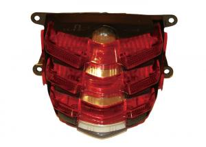China ABS Motorcycle Driving Lights , Performance Motorcycle Parts Motors Tail Lamp on sale