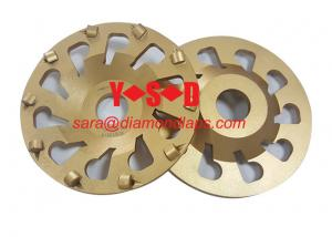 China 7 Inch PCD Concrete Grinding Wheel/Disc with Cup shaped for Angle Grinder on sale