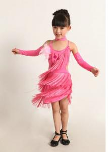 China Latin dance costomes for children,Jazz dance wear for performance on sale
