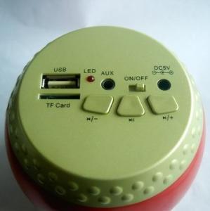China USB2.0 Portable Mini Drum Speaker With USB Powered on sale