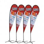 Custom printing Feather Flag Banners for exhibition and promotion