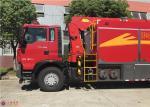 Wireless Remote Control Pumper Fire Truck , Water Supply Fire Brigade Truck