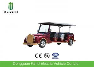 China 8 Seater 7.5KW Electric Vintage Cars Classic Retro Golf Cart CE Certificated on sale