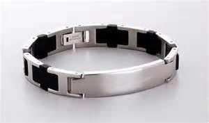 China Personalized customizable germanium titanium bracelet, power band bracelet on sale