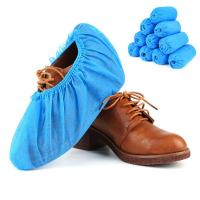 China Food Service Slip Resistant CPE Disposable Plastic Shoe Covers on sale