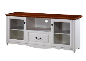 Quality Customized Low Cost Modern TV Stand Furniture With Wood Veneer For  Sale