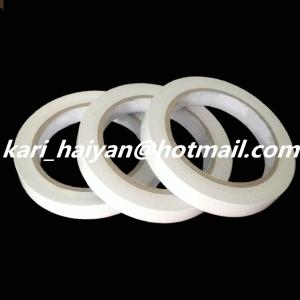 China Semi-transparent White 2 Faced Adhesive Tape for Turn-up Process on sale