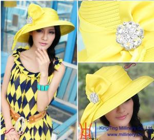 64ffb983a60 2015 Spring New Wholesale Women Church Hats  Party hats for sale ...