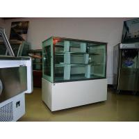 Asia Hot Sale Luxury White Square Cake Display Freezer 1.8 meter Two Layers