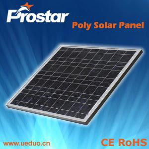 China Polycrystalline Silicon Solar Panel 50W on sale