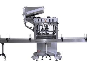 China Stainless Steel Bottle Cap Sealing Machine / Automatic Tin Capping Machine on sale