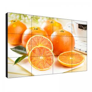 China Long Life 55 Inch Lcd Video Wall High Contrast Ratio 4500/1 500 Nits Brightness on sale