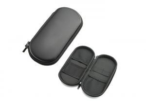 China Premium Hard Shell EVA Box Case in Black with Carabiner Clip & Twin Zips for E Cigarette Vapor Mod Box Vaping Kit + Acc on sale