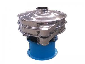 China Steel Material Movable Round Micro Powder Ultrasonic Vibrating Sifter on sale